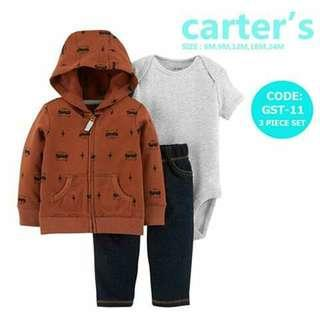 Carter's Baby 3pc Cardigan Set - GST11