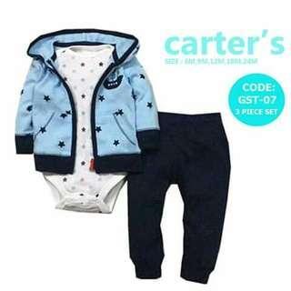 Carter's Baby 3pc Cardigan Set - GST07