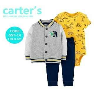 Carter's Baby 3pc Cardigan Set - GST14