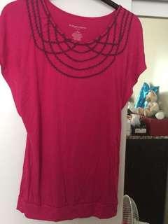 Fuschia Pink Blouse