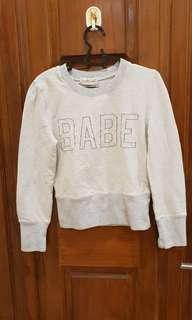 GOWIGASA - BABE Sweater Grey