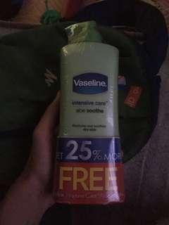 Vaseline Intensive Care Aloe