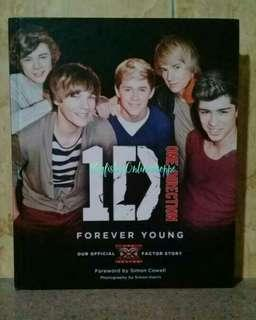OFFICIAL ONE DIRECTION: FOREVER YOUNG AUTOBIO BOOK