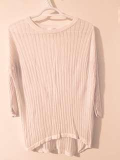 Wilfred light sweater / size M