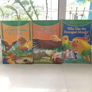 🚚 (Set of 3 books) Big Picture Story Books