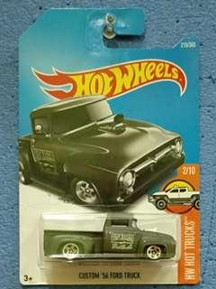 HOT WHEELS-CUSTOM 56 FORD TRUCK
