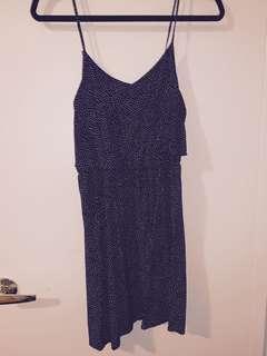 H&M - polka dot dress - size 6