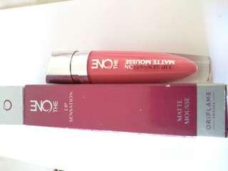 Oriflame matte pink coral lipstick
