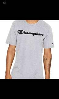 Champion leather faux tee