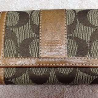 Preloved Coach wallet