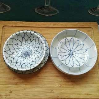 Japanese Tokusa and Net Pattern Set
