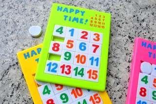 15格數字 sliding puzzle 移動拼圖 滑動拼板 滑動拼圖