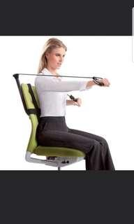 Office gym! New Trend! Can be installed on most chairs!