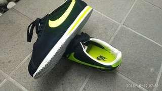 Nike cortez green athletic black fluorescent not adidas puma fila