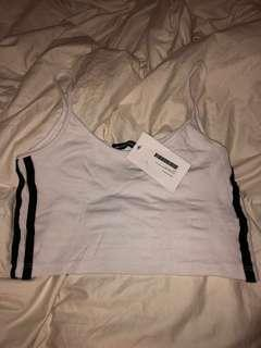 BNWT Brandy Melville Stripe Tank Top