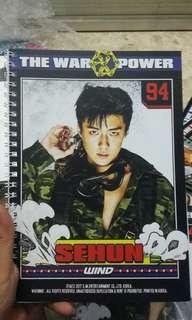 Unofficial EXO Sehun Notebook