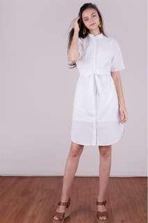 BNWT TTR Skye Drawstring Shirtdress