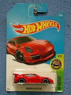 HOT WHEELS-PORSCHE 911 GT3 RS