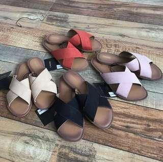 [PO] Comfy Basic Criss Cross Sandals