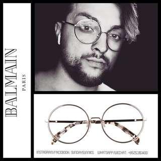Balmain BL1504s eyewear 圓形眼鏡