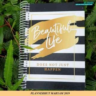 PLANNER 2019 MARYAM - GOLD