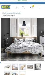 Ikea bed frame Queen size