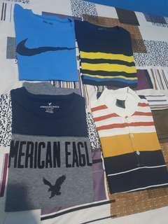 Nike Blued Solo American Eagle Shirts