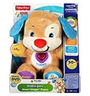 英國直送:半價售50% off Fisher Price Smart Stages Puppies