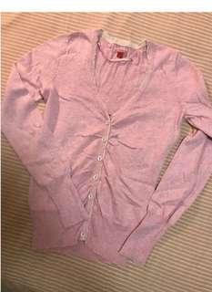 Esprit pink cardigan, no bargaining