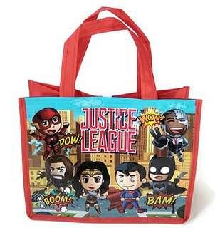 1for$1.20 12for$14 Justice League Ironman Wonderwoman Goodie Loot Bag with velcro for any party celebration