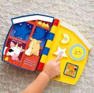🇬🇧Express: 60% off Fisher Price 3D Musical Book 4折售立體音樂圖書