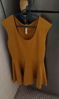 Kitschen Mustard Dress #POST1111