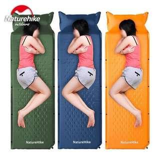 [Ready stock] Naturehike self inflating sleeping pad bed mattress for camping