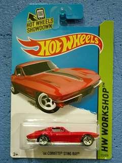 HOT WHEELS-CORVETTE