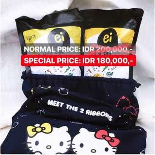 Ei Salted Egg Ei x Hello Kitty Pouch Limited Edition [Open PO for 1st NOV 18]