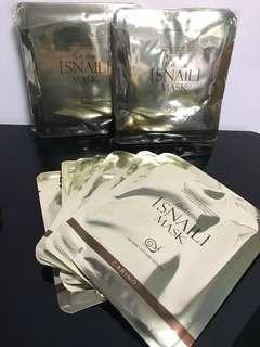 韓國Hydrating Snail Mask蝸牛美白補濕面膜