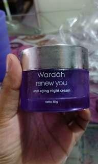 Wardah renewyou night cream