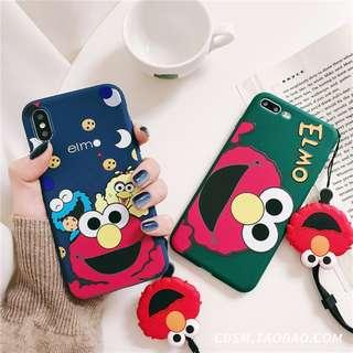 Sesame Streets Soft Phone Case c/w Matching Phone Strap