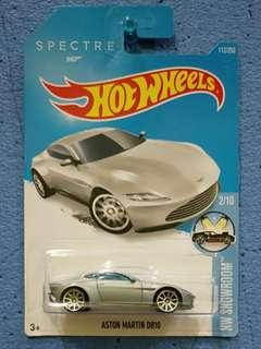 HOT WHEELS-007 ASTON MARTIN DB10