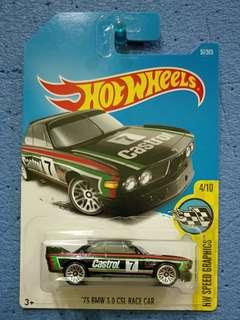 HOT WHEELS-73 BMW 3.0 CSL RACE CAR
