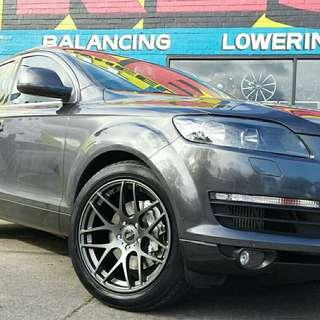 Tyre- Kinforest. Audi Q7 🙋♂️ It's not a actual price