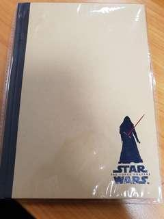 Star wars note book Bless $2 token