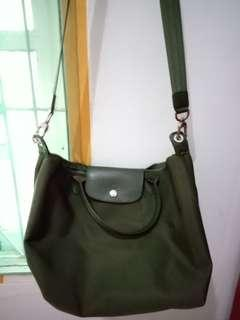Longchamp green