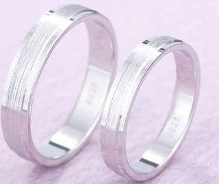 Couple ring opening Creative couple pointing finger Fashion simple ring