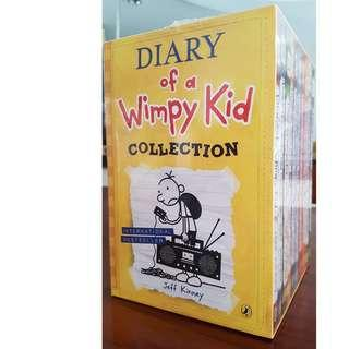 (Brand New) 10 Wimpy Kid collection