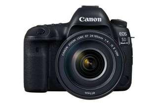 🚚 [BNIP] Canon EOS 5D MARK IV (w/o Kit)