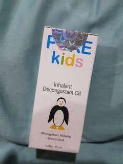 PURE KIDS - Inhalant Decongestant Oil