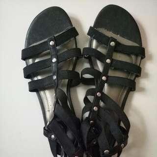 Payless Black Sandal