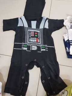 Baju Dark vader dengan jubah