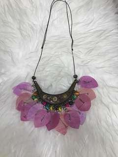 Kalung antik REAL FLOWER